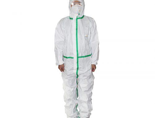 代尔塔406012 DT119防静电限次胶条型防化服