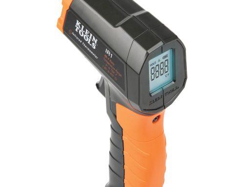 IR1带有瞄准激光器的红外数字温度计