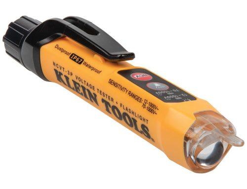 NCVT3P带手电筒的双量程非接触电压测试仪,交流12-1000V