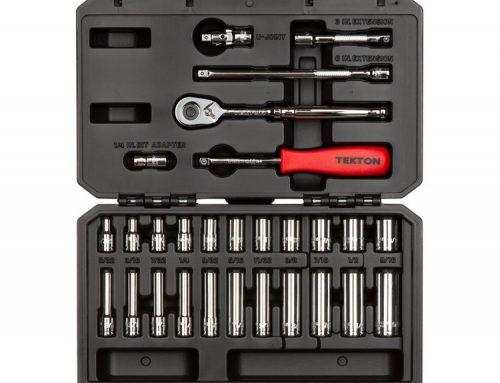 SKT05101 1/4英寸驱动器6点套筒和棘轮套件 29件(5/32-9/16英寸)