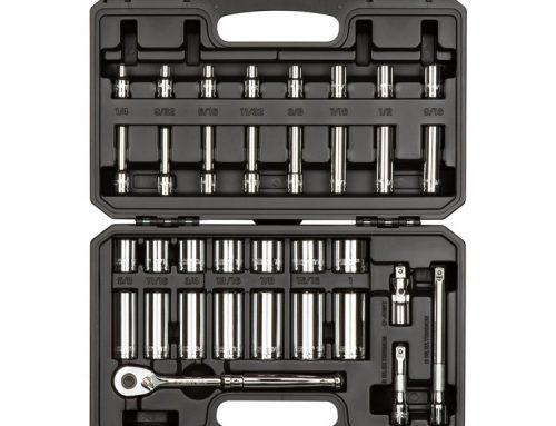 SKT15101 3/8英寸驱动器6点套筒和棘轮套件 35件(1/4-1英寸)